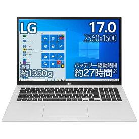 LG 17Z90P-KA79J ノートパソコン gram クオーツシルバー [17.0型 /intel Core i7 /SSD:1TB /メモリ:16GB /2021年2月モデル]