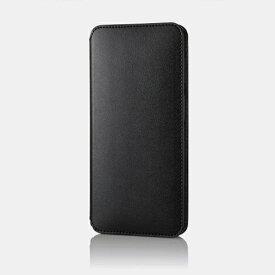 エレコム ELECOM Galaxy A32 5G レザーケース 手帳型 NEUTZ 磁石付き ブラック PM-G208PLFY2BK