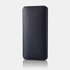 エレコム ELECOM Galaxy A32 5G レザーケース 手帳型 NEUTZ 磁石付き ネイビー PM-G208PLFY2NV