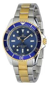クレファー CREPHA アナログ腕時計 ブルー SV-AM264-BLT