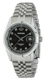 クレファー アナログ腕時計 クレファー(SALVECCHIO) ブラック SV-AM268-BKS