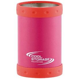 パール金属 PEARL METAL クールストレージ 保冷缶ホルダー350 ピンク D-6638