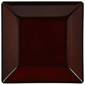 パール金属 PEARL METAL 漆器彩 クリーンコート角小皿 赤溜 赤溜 K-6125