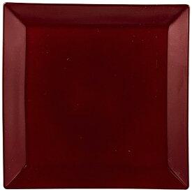 パール金属 PEARL METAL 漆器彩 クリーンコート角皿 赤溜 赤溜 K-6127