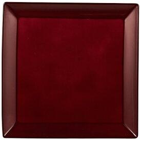 パール金属 PEARL METAL 漆器彩 クリーンコート角大皿 赤溜 赤溜 K-6128