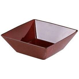 パール金属 PEARL METAL 漆器彩 クリーンコート角盛鉢 赤溜 赤溜 K-6130