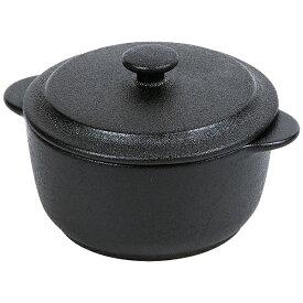 パール金属 PEARL METAL オーブンウェアブラック スモールキャセロール(丸型) L-1912