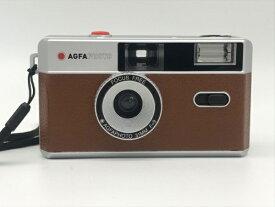 AGFA アグフア AGFA Photo Analogue Photo Camera(アグファフォト アナログフォトカメラ)35mmフィルムカメラ ブラウン