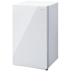 アイリスオーヤマ IRIS OHYAMA 冷凍庫60Lガラス扉 ホワイト KUGD-6B-W [1ドア /右開きタイプ /60L]