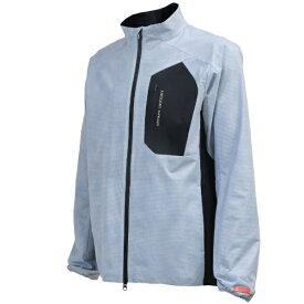 本間ゴルフ HONMA GOLF メンズ エアードットウィンドブレーカージャケット(Mサイズ/グレー) 131-733411