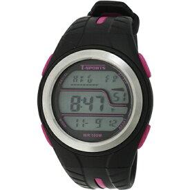 クレファー CREPHA デジタル腕時計 ピンク TS-D2019-PK