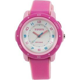 クレファー CREPHA アナログ腕時計 ピンク TS-A109-PK