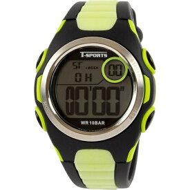 クレファー CREPHA デジタル腕時計 グリーン TS-D113-GN