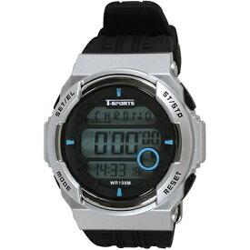 クレファー CREPHA デジタル腕時計 シルバー TS-D2058-SV