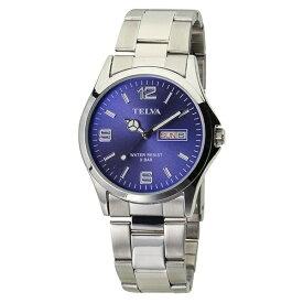 クレファー CREPHA アナログ腕時計 シルバー TE-AM181-BLS