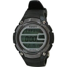 クレファー CREPHA デジタル腕時計 ブラック TS-D2059-BK
