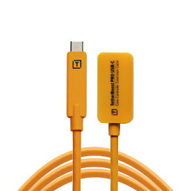 テザーツールズ Tether Tools テザーブースト プロ USB-C コア コントローラー エクステンション ケーブル オレンジ TBPRO3-ORG
