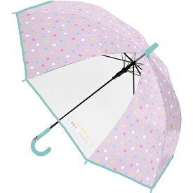 中谷 NAKATANI 561-022 カラフルドットパーティ パープル パープル4 561-022 [雨傘]