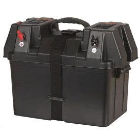 バッテリーボックス バッテリーポータブルボックス ポータブル電源機能(USBソケット・シガーソケット) RK-DP001
