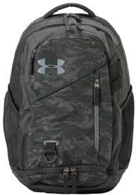 アンダーアーマー UNDER ARMOUR 男女兼用 トレーニングバッグ UAハッスル 4.0 バックパック 29.4L UA Hustle 4.0 Backpack(ONESIZE×Black / Black / Pitch Gray)1342651-008