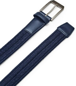 アンダーアーマー UNDER ARMOUR メンズ ゴルフ UAブレイド ベルト UA Braided Belt(30サイズ×Academy / None)1361569-408