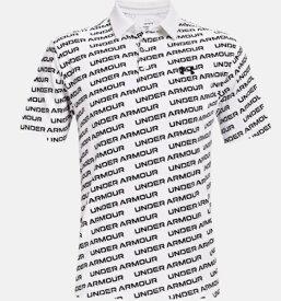 アンダーアーマー UNDER ARMOUR メンズ ゴルフポロシャツ UAプレーオフポロ2.0 UA Playoff Polo 2.0(LGサイズ×White / Black)1327037-137