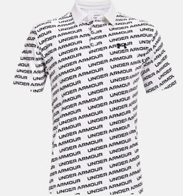 アンダーアーマー UNDER ARMOUR メンズ ゴルフポロシャツ UAプレーオフポロ2.0 UA Playoff Polo 2.0(XLサイズ×White / Black)1327037-137