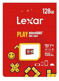 LEXAR microSDXCカード PLAY LMSPLAY128G-BNNNJ [128GB /Class10]