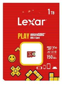 LEXAR microSDXCカード PLAY LMSPLAY001T-BNNNJ [1TB /Class10]