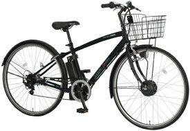 丸石サイクル Maruishi Cycle 27型 電動アシスト自転車 ビュースポルティーボ(外装7段変速/マットブラック) ASPAP277KMCE【組立商品につき返品不可】 【代金引換配送不可】