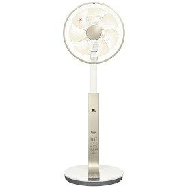 パナソニック Panasonic リビング扇風機 シルキーゴールド F-CU339-N [DCモーター搭載 /リモコン付き]