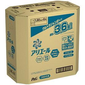 P&G ピーアンドジー 【ケース販売】ARIEL(アリエール)バイオサイエンスジェル つめかえ ウルトラジャンボサイズ 1800g×6コ【2109sspg】