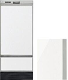 リンナイ Rinnai 食洗機用化粧パネル RWX-SD401LP用 ホワイト(光 KWP-SD401P-W