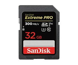 【2021年4月】 サンディスク SanDisk SDHCカード エクストリーム プロ SDSDXDK-032G-JNJIP [32GB /Class10]