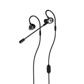 STEELSERIES スティールシリーズ 61650 ゲーミングヘッドセット Tusq ブラック [φ3.5mmミニプラグ /両耳 /イヤフックタイプ]