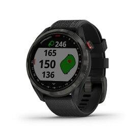 GARMIN GPS ゴルフナビゲーションウォッチ Approach S42(ブラック×カーボングレー)010-02572-22