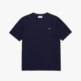 ラコステ LACOSTE メンズ レギュラーフィット クロコエンブレムクルーネックポケットTシャツ(004:Mサイズ/ネイビー) TH5846L