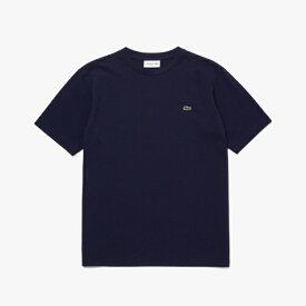 ラコステ LACOSTE メンズ レギュラーフィット クロコエンブレムクルーネックポケットTシャツ(005:Lサイズ/ネイビー) TH5846L