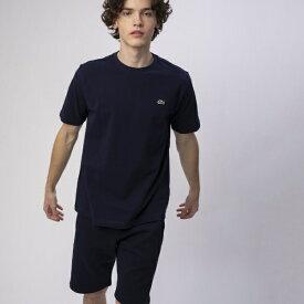 ラコステ LACOSTE メンズ 鹿の子クルーネックTシャツ(003:Sサイズ/ネイビー) TH635EN