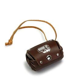 山田屋写真用品 革製フイルムケース(35mm 1本タイプ) ブラウン LFC-01BR