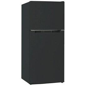 WINCOD TH-138L2BK 直冷式冷蔵庫 TOHOTAIYO ブラック [2ドア /右開き/左開き付け替えタイプ /138L]《基本設置料金セット》