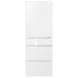 パナソニック Panasonic 冷蔵庫 EXタイプ ハーモニーホワイト NR-E507EX-W [5ドア /右開きタイプ /502L]《基本設置料金セット》
