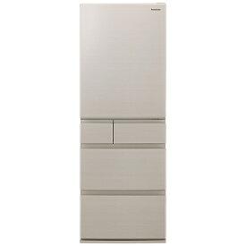 パナソニック Panasonic 冷蔵庫 EXタイプ グレインベージュ NR-E507EXL-N [5ドア /左開きタイプ /502L]《基本設置料金セット》