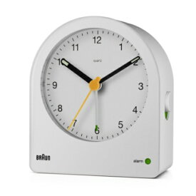 BRAUN BRAUN Analog Alarm Clock BC22W(並行輸入品)