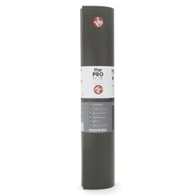 マンドゥカ PRO プロ ヨガマット(6mm/ブラック) YOGAMATPRO071