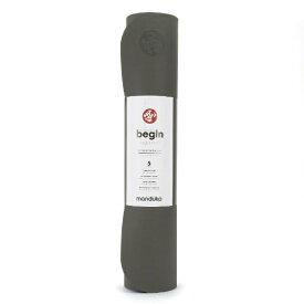 マンドゥカ BEGIN ビギン ヨガマット(5mm/サンダー:スティールグレー) YOGAMATBEGIN5MM