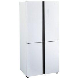 ハイアール Haier 冷蔵庫 W JF-NF468B [4ドア /観音開きタイプ /468L]《基本設置料金セット》