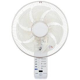 ユアサプライムス YUASA PRIMUS 人感センサー付フルリモコン壁掛け扇風機 YTW-M373CFR-W [リモコン付き]