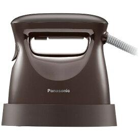 パナソニック Panasonic 衣類スチーマー ダークブラウン NI-FS570-T [ハンガーショット機能付き]