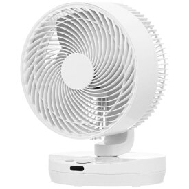 ヤマゼン YAMAZEN 25cm 大風量サーキュレーター扇風機 40畳 上下左右自動首振り リモコン式 ガード脱着式 YAR-DD25-W [DCモーター搭載 /リモコン付き]